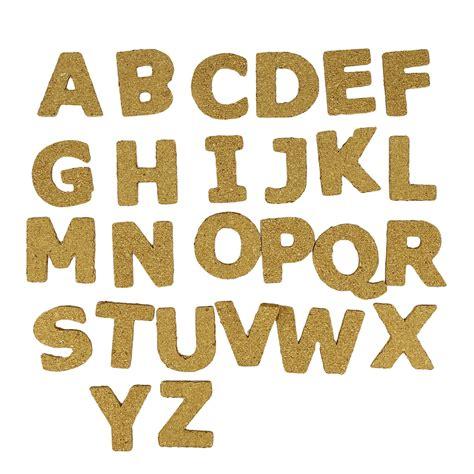 Buchstaben Aufkleber 5mm by 26 Buchstaben Aus Kork 40 Mm Nat 252 Rlich Perles Co