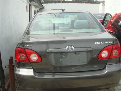 Toyota Corolla 2006 European Model Clean 2006 Model Toyota Corolla Price Reduced 1 850m