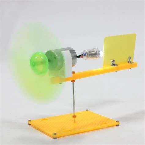 Handmade Science Models - diy handmade science kit dc micro wind motor turbines