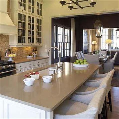 Cream Shaker Kitchen Cabinets by Cream Quartz Countertops Design Decor Photos Pictures