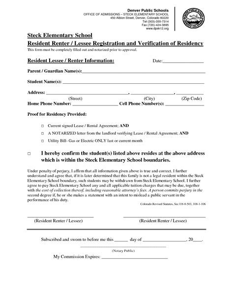 Contract Verification Letter best photos of tenant residency verification letter rent