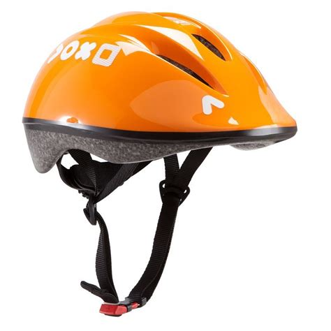 CASQUE VELO ENFANT 300 ORANGE   Decathlon