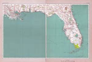 detailed road map of florida large detailed road atlas of florida state florida state