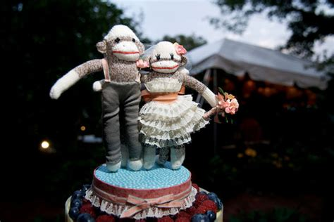 Monkey For Your Wedding by Cutest Cake Topper Cheap N Wedding