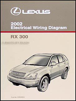 where to buy car manuals 2002 lexus rx head up display 2002 lexus rx 300 wiring diagram manual original