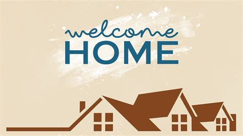 welcome home church sermon series ideas