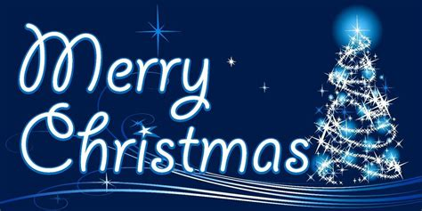 merry christmas tree blue sign xmas decoration canvas picture wall art prints ebay