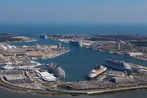 cape canaveral cruise canaveral orlando cruise address parking