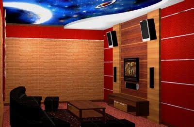 Pasaran Multiplex membuat dan mendesain ruang karaoke keluarga di rumah