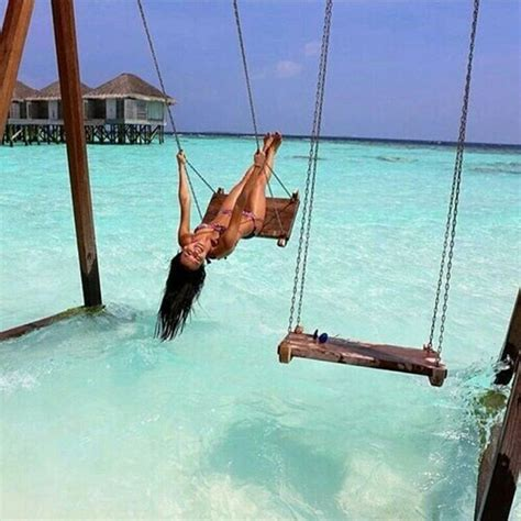 swings over the ocean untitled image 3809890 by marine21 on favim com
