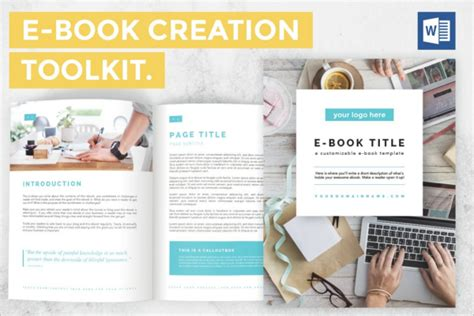 12 Ebook Design Templates Free Word Powerpoint Designs Ebook Template Word