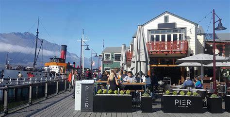 pier queenstown pier restaurant bar steamer wharf queenstown new zealand