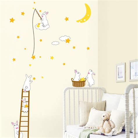 rabbit wall stickers rabbit wall stickers for nursery is the envy of all