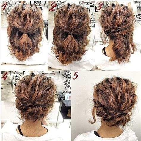 Do It Yourself Wedding Hairstyles Half Up by Easy Updos For Hair To Do Yourself Hair