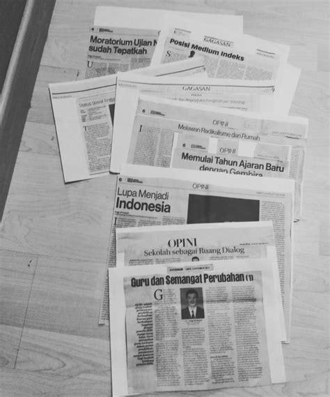 Menulis Opini Di Koran | menulis opini di koran oleh anggi afriansyah kompasiana com