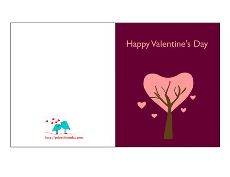 free printable valentines day greeting cards cards to print