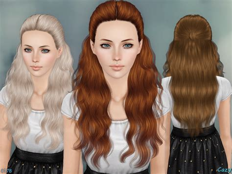 sims 3 hair braid tsr the sims resource over cazy s hannah female hairstyle set