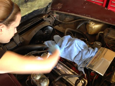 drivers side valve cover removal cora s garage not every teenager gets to work on a
