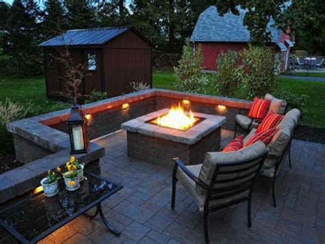 outdoor patio firepit 33 diy firepit designs for your backyard ultimate home ideas