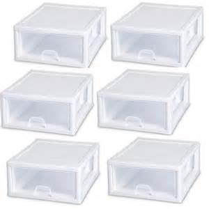 sterilite 23018006 16 quart modular stacking storage