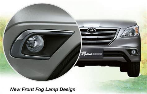 Garnish Lu Belakang Toyota Innova 2011 2015 eksterior toyota new kijang innova baru tipe j e g v manual automatic luxury bensin