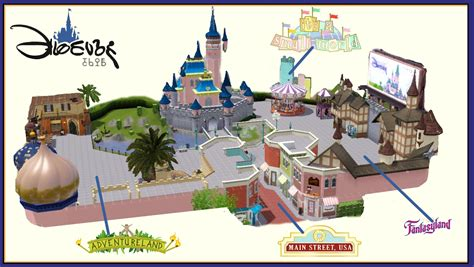 buy a house in disney world mod the sims disneyland park
