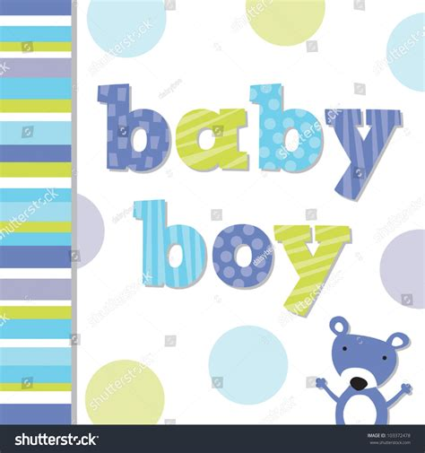 newborn baby card template vector greeting card template with teddy