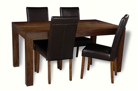 Mango 160cm Dining Table 4 Barcelona Chairs Trade Mango Dining Chairs