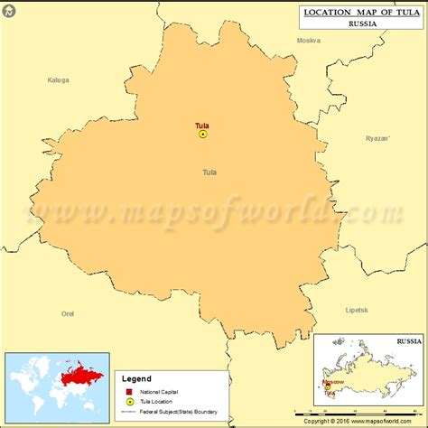 russia tula map where is tula location of tula in russia map