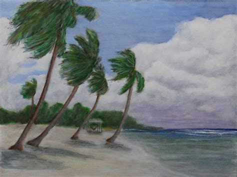 cool breeze cool breeze on the brac painting by monte lee thornton