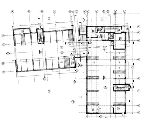 parking building floor plan rights of way february 2011