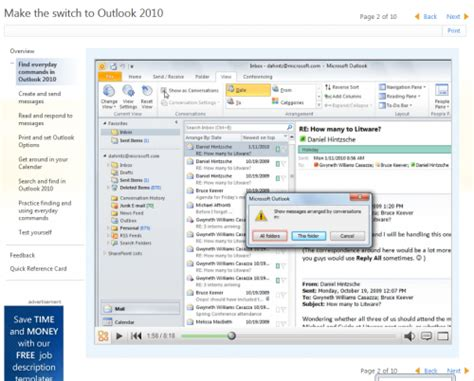 change calendar layout in outlook 2010 free microsoft outlook 2010 training courses ghacks tech