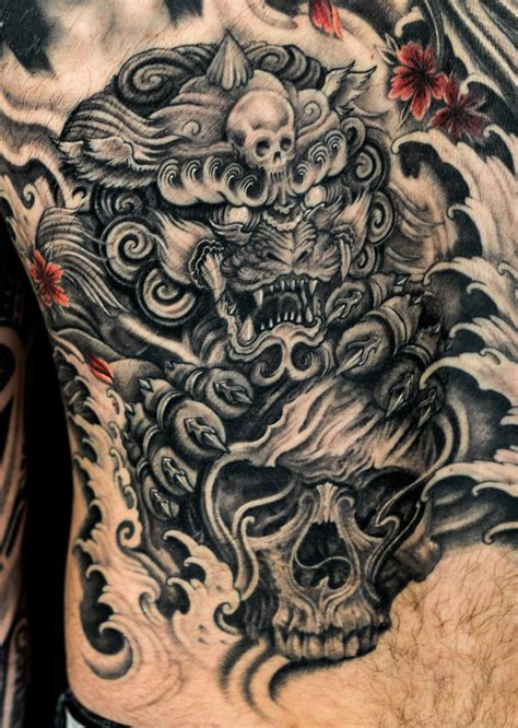 fu dog tattoo tattoo collections