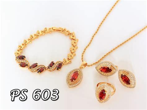 Set Perhiasan Xuping perhiasan set xuping pusat perhiasan set