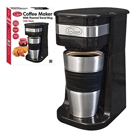 Does Coffee Of Electric Chocolate by Quest Benross One Cup Filter Coffee Maker With Travel Mug