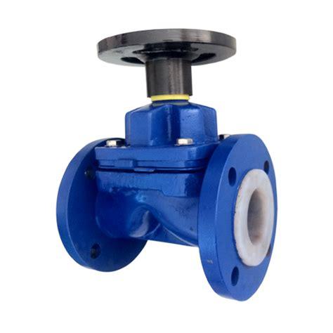 Teplon Pvc Valve ptfe lined diaphragm valve teflon manufacturer india
