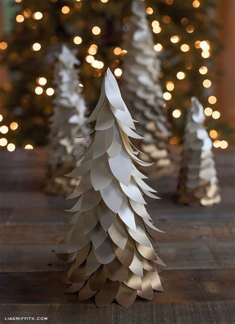 large paper christmas tree woodland mini ombre tree allfreepapercrafts