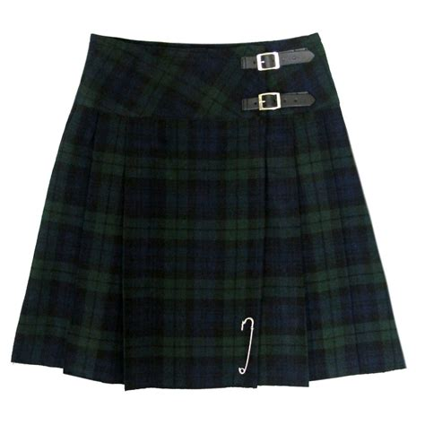 new black 20 quot scottish highland kilt skirt us4