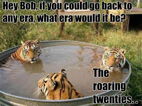 tiger hot tub talk by jcris25 meme center