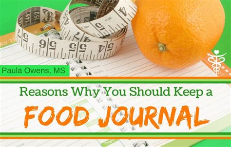 Lose Belly With A Food Journal by Keep A Food Journal And Lose More Weight Paula Owens Ms