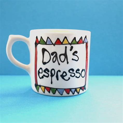personalised espresso cup by gallery thea