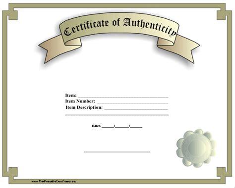 Certificate Of Authenticity Autograph Template certificate of authenticity philosophy sociology