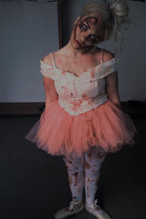 zombie ballerina tutorial zombie ballerina makeup time pinterest ballerina