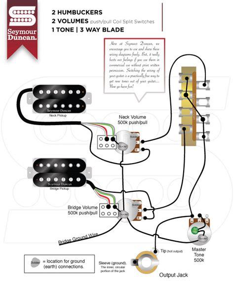 wiring diagram 2 vol 1 tone seymore duncan dimarzio