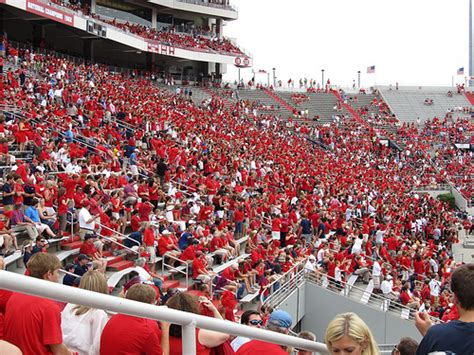 ole miss student section ole miss student section vaught hemingway stadium