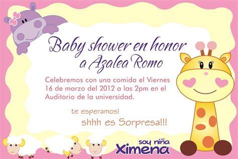 invitaciones para baby shower de ni 241 a hd