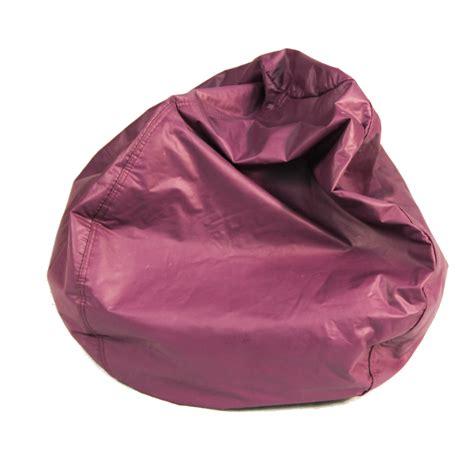 purple bean bag chairs bean bag classic purple vinyl corvallis productions