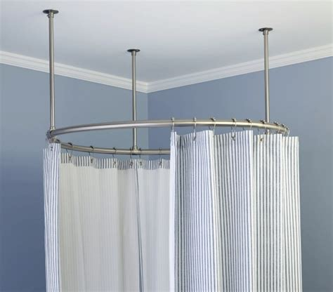 Curved Shower Curtains Curved Shower Curtain Rods For Shower Stalls Home Design Ideas