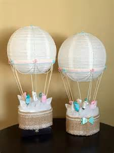 air balloon table centerpieces air balloon baby shower table centerpiece nursery d 233 cor