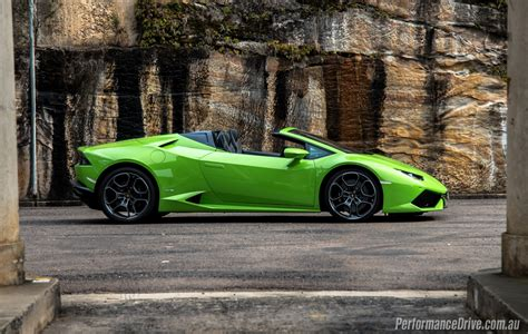 Lamborghini Spyder 2016 Lamborghini Huracan Spyder Review Impressions